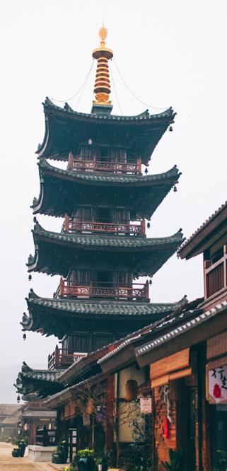 特色目的地_拈花塔【灵山拈花湾预订网】